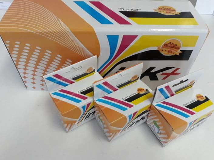 Scatole per cartucce e toner personalizzate